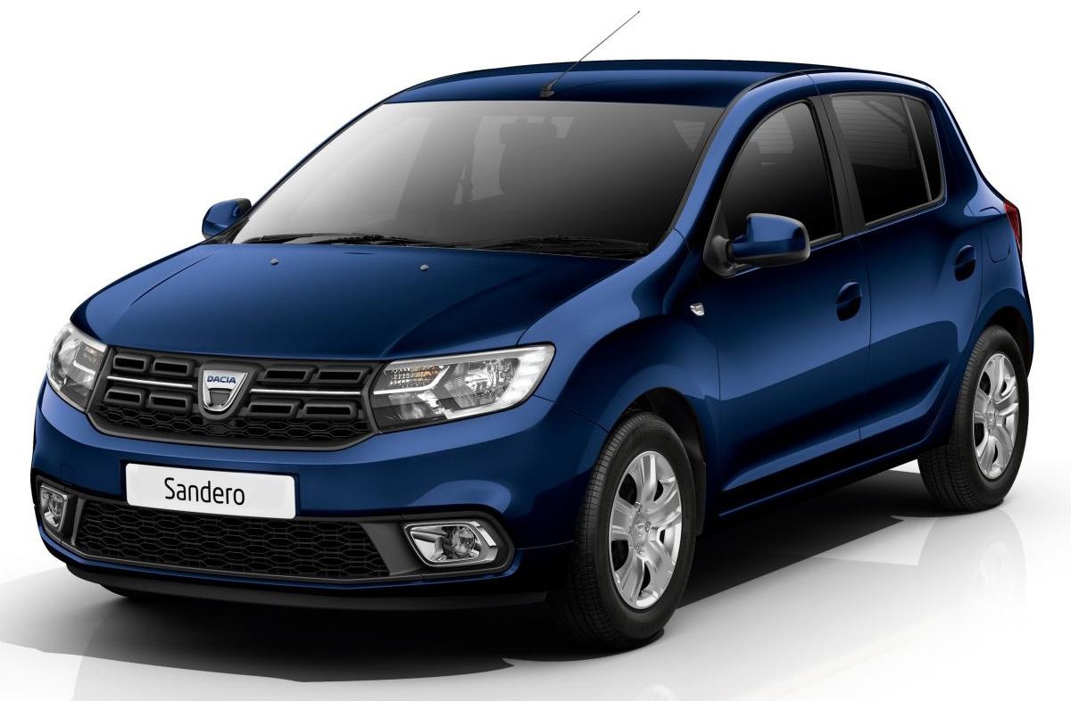 Dacia Sandero bleue