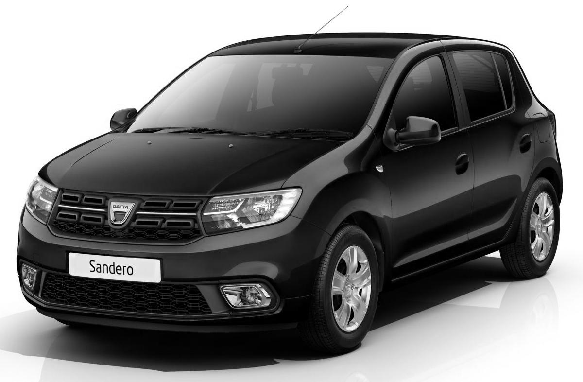 Dacia Sandero grise