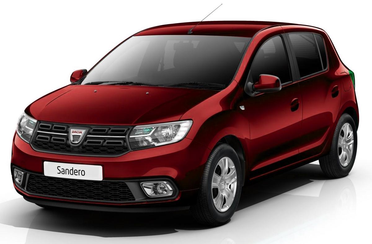Dacia sandero rouge